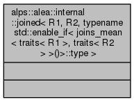 ALPSCore reference: alps::alea::internal::joined< R1, R2